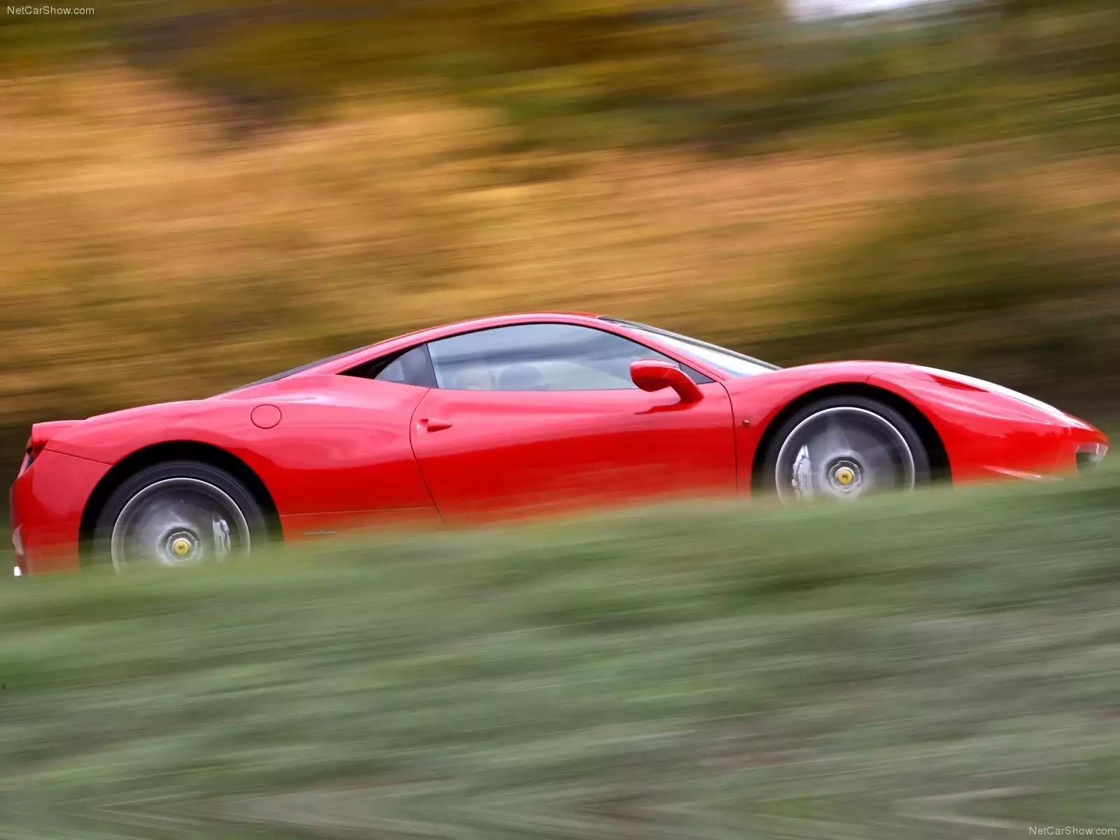 Hình ảnh siêu xe Ferrari 458 Italia 2011 & nội ngoại thất