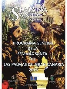 PROGRAMA GENERAL DE LA SEMANA SANTA 2015