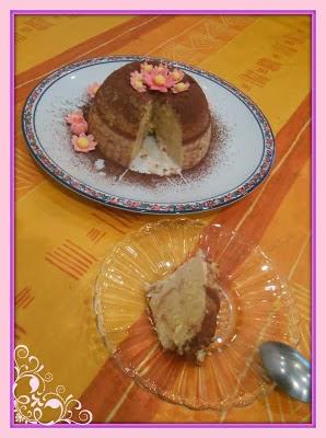 la borsa di mary poppins... dalla cucina al fimo: riciclo pan di spagna - zuccotto al cre'me caramel...