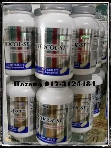 order phytocol-st shaklee kolesterol tinggi