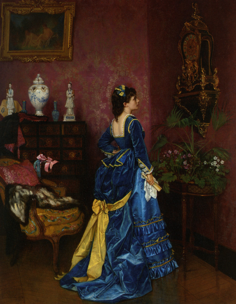 toulmouche blue dress