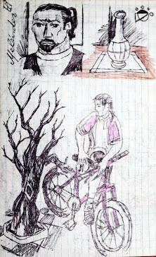 Con la bici