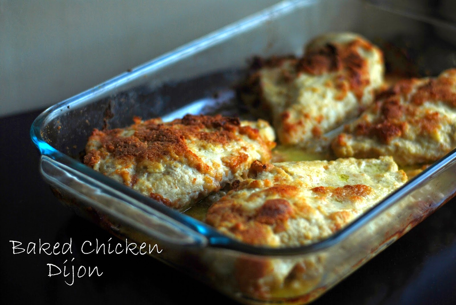 Baked Chicken Dijon | Aunt Bee's Recipes