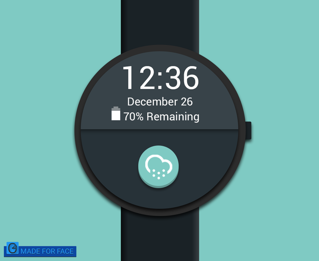 Facer android wear - The Digital Watch Face Also Have Some Neat Option Such Custom Background And A Notification Icon That Shows When You Are Charging Your Android Wear
