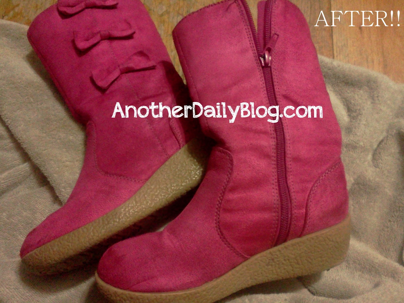 how to clean suede boots diy