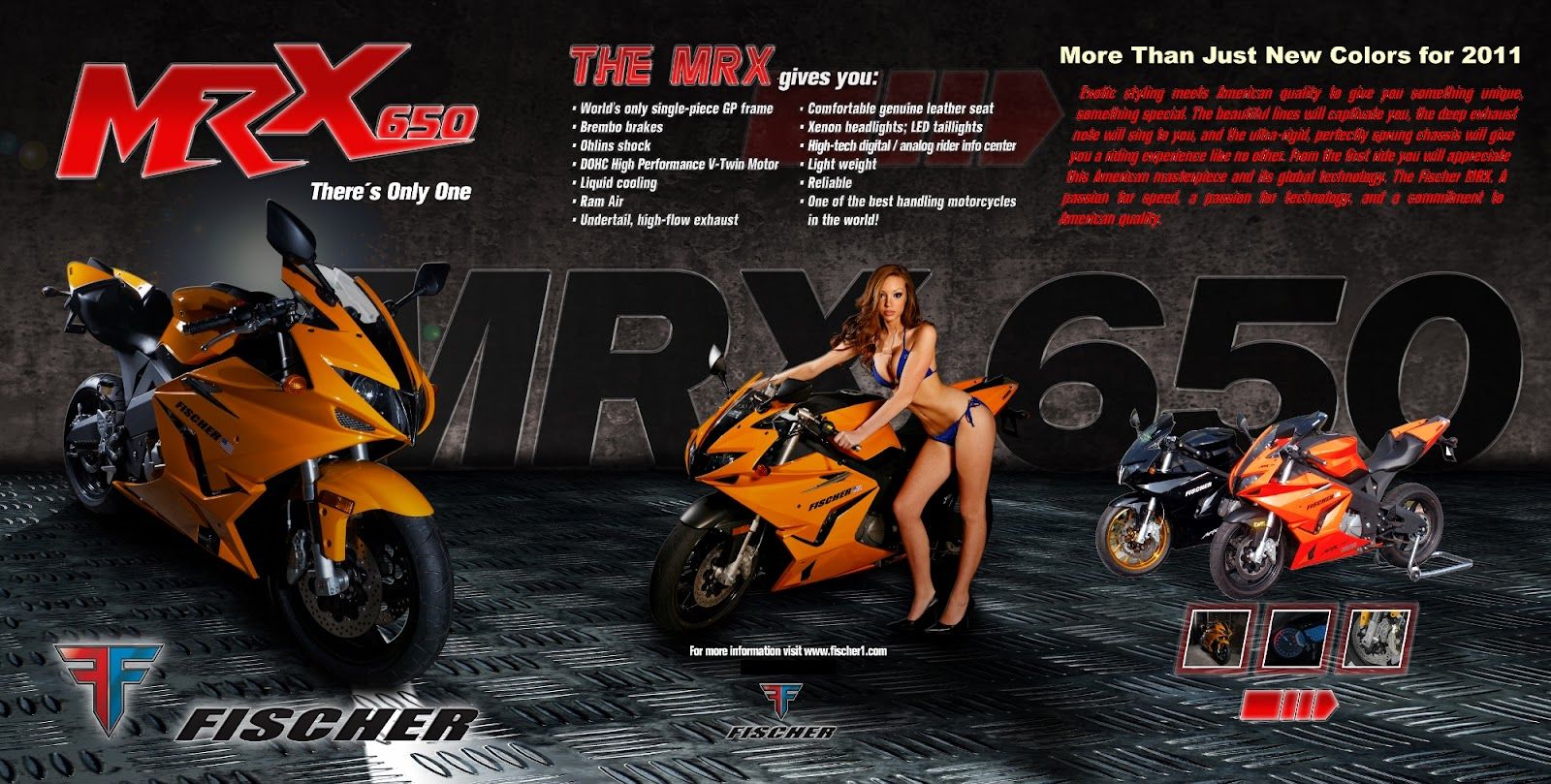 Fischer MRX - Korean-American Supersport