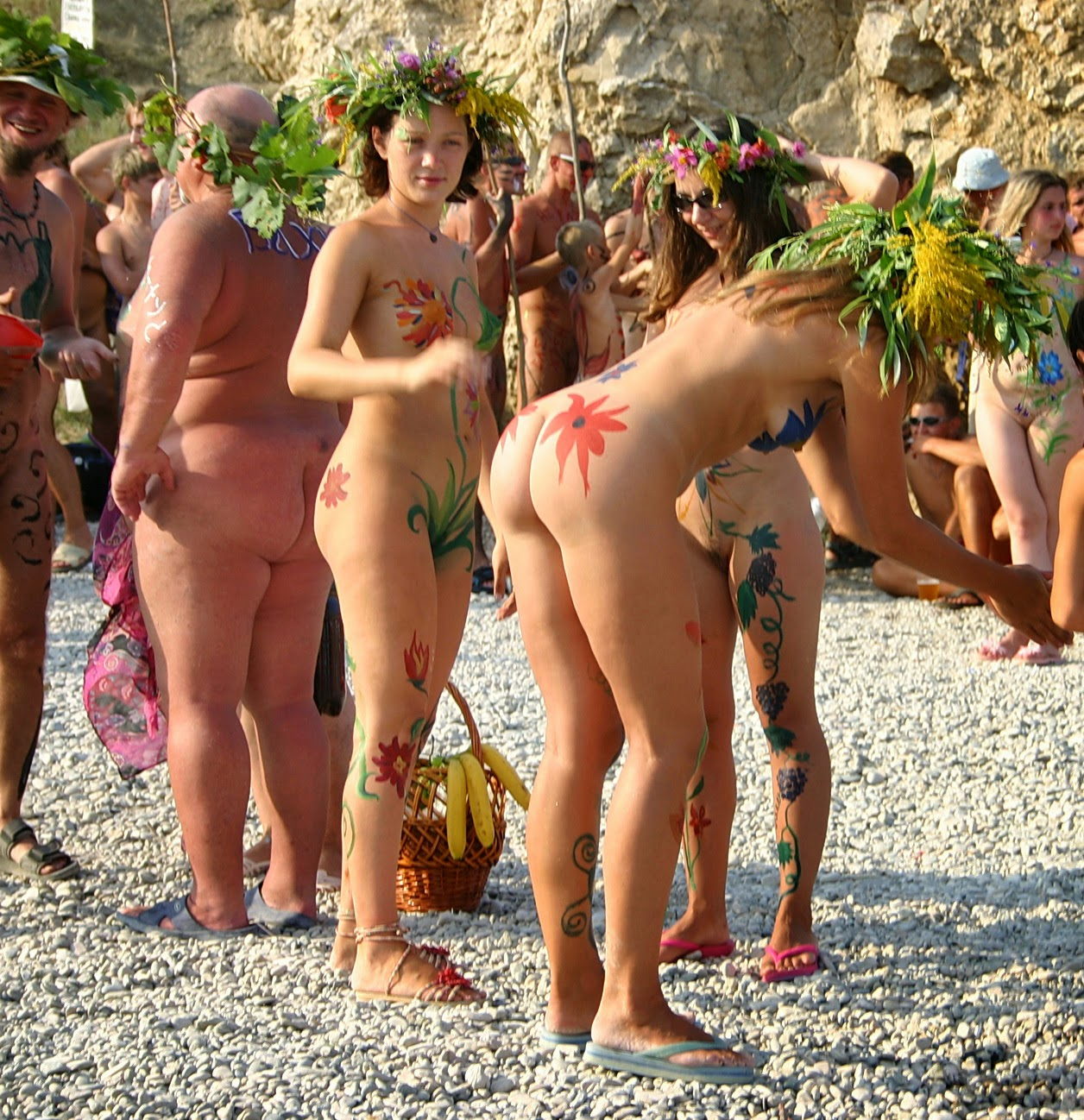 Think, Nude beach family body art much necessary