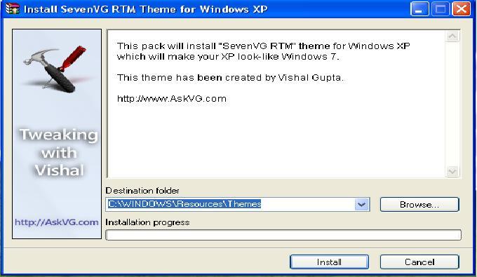 Cara Merubah Tampilan Windows XP Jadi Seperti Windows 7 | Teknik ...