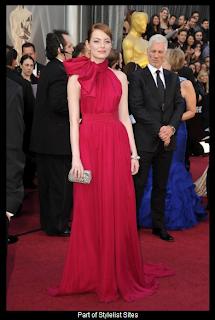 Oscars 2012 Emma Stone in Giambattista Valli