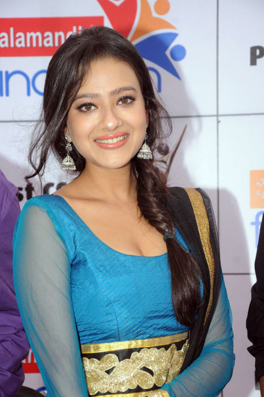 Madalsa sharma  - (8) - Madalsa sharma in Blue Suit - Hot Pics