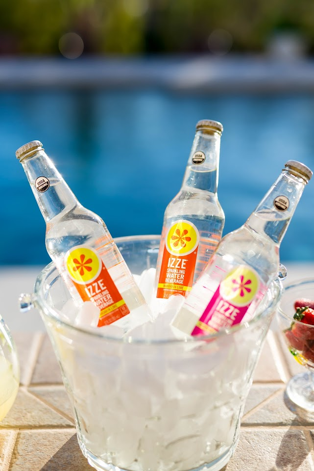izze sparkling water, summer party drink ideas, wedding drink ideas, low calorie, organic