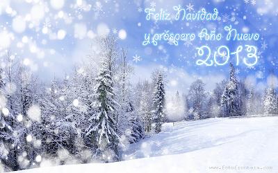 Mensajes navideños para compartir en postales de invierno