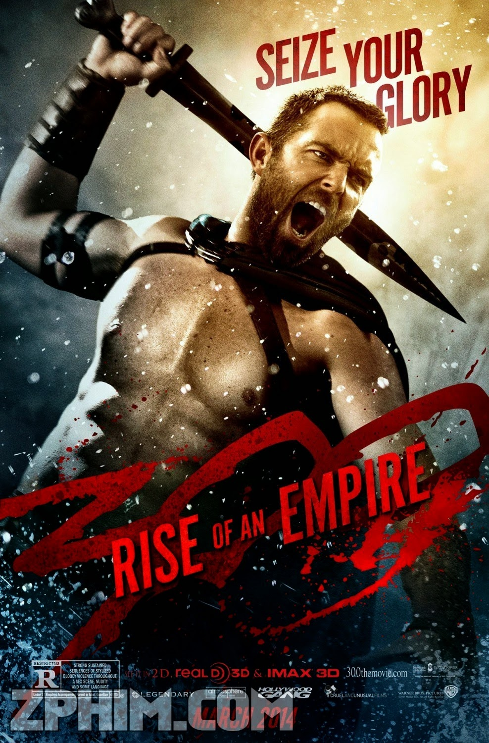 300: Đế Chế Trỗi Dậy - 300: Rise Of An Empire (2014) Poster