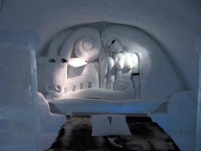 Ice Hotel, Un hotel de hielo en Suecia