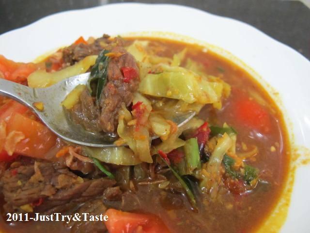 Resep bumbu dan masakan tongseng daging kambing