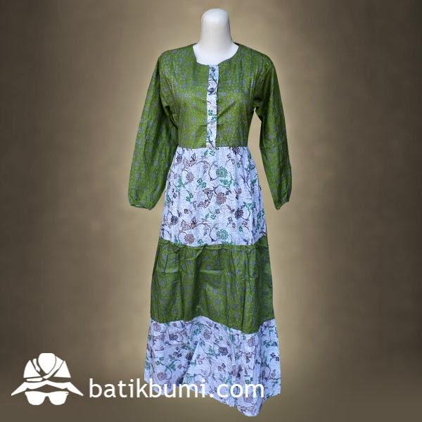 Batik gamis modern