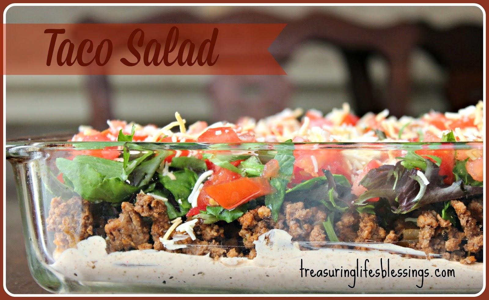 Taco Salad, Gluten Free Recipe