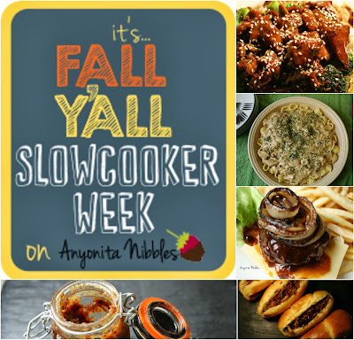 Slowcooker Week on www.anyonita-nibbles.com