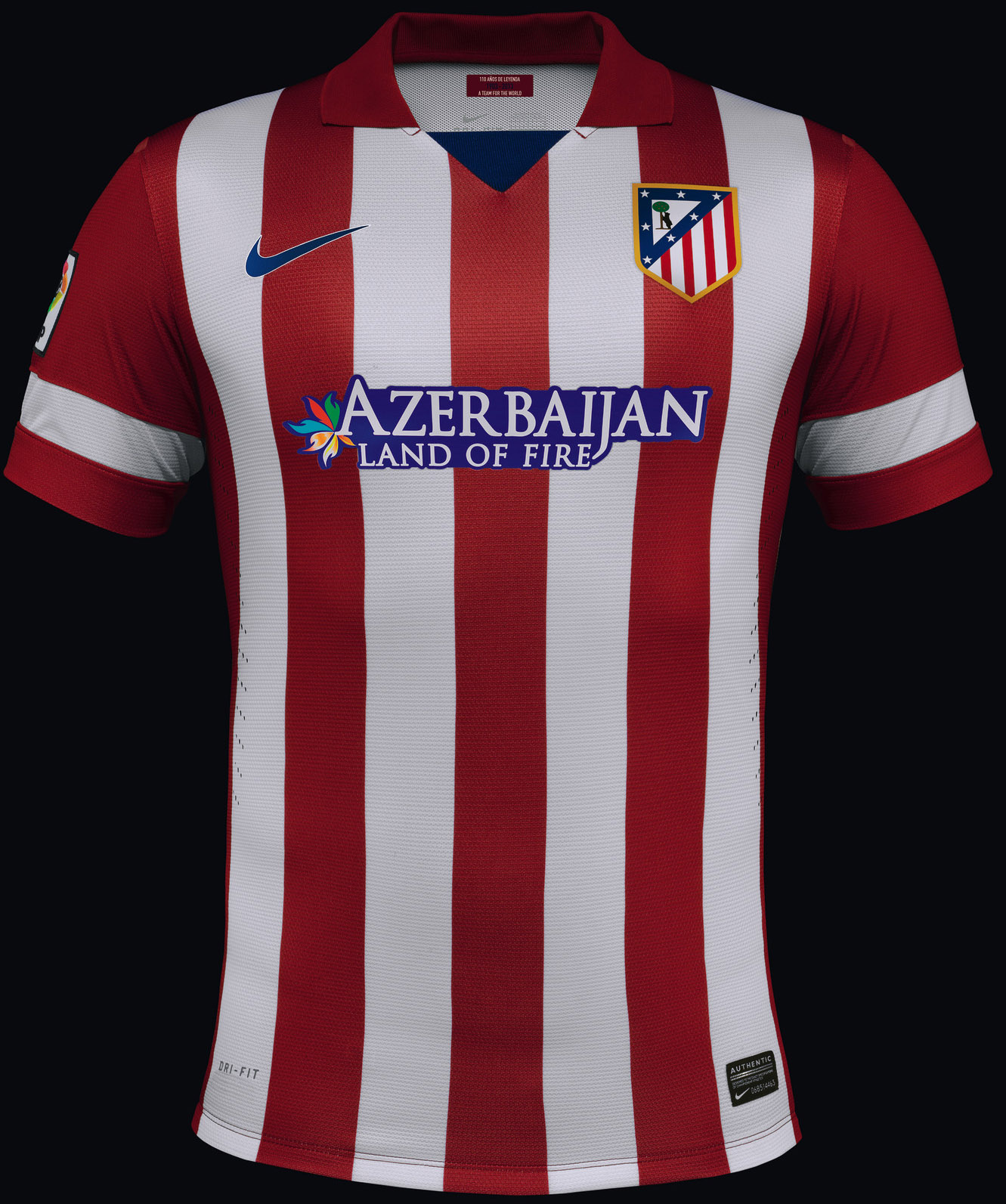 Atlético Madrid 13-14 (2013-14) Home + Away Kits Released - Footy ...