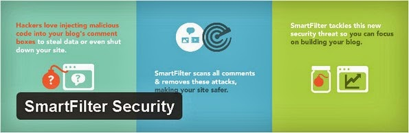SmartFilter Security plugin for WordPress blogs