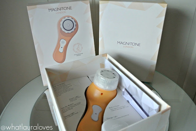 Magnitone Barefaced! Orange cleansing brush review