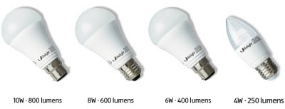 LED bulbs - incandescent replacments
