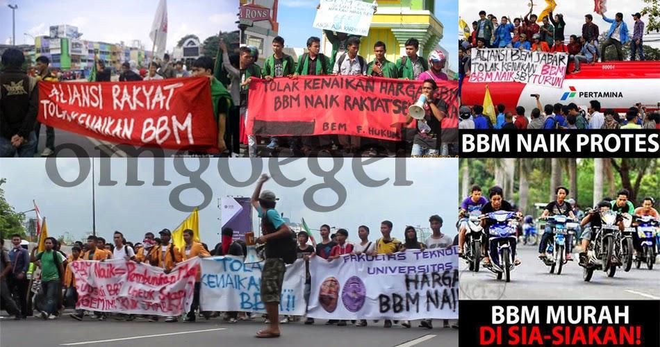 Harga BBM naik rakyat indonesia berkomentar