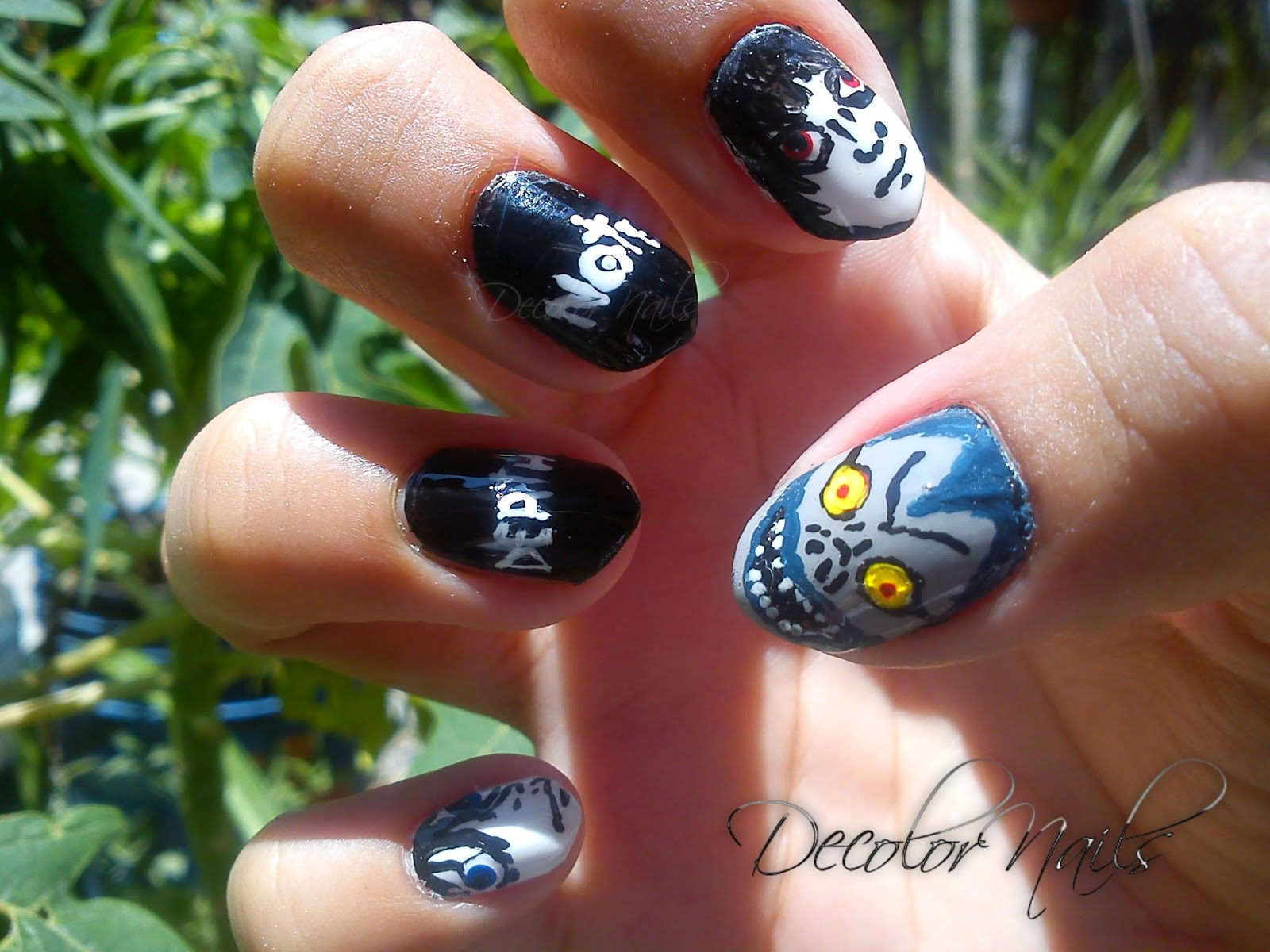 Decolornails : #RetoFRKI2015/ Death Note