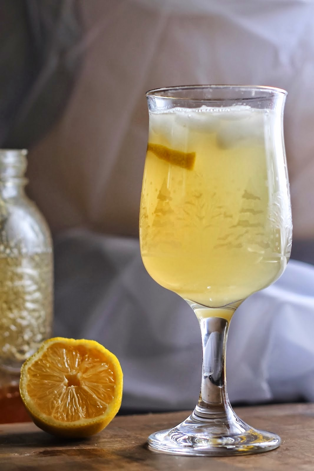 Homemade Ginger Tonic