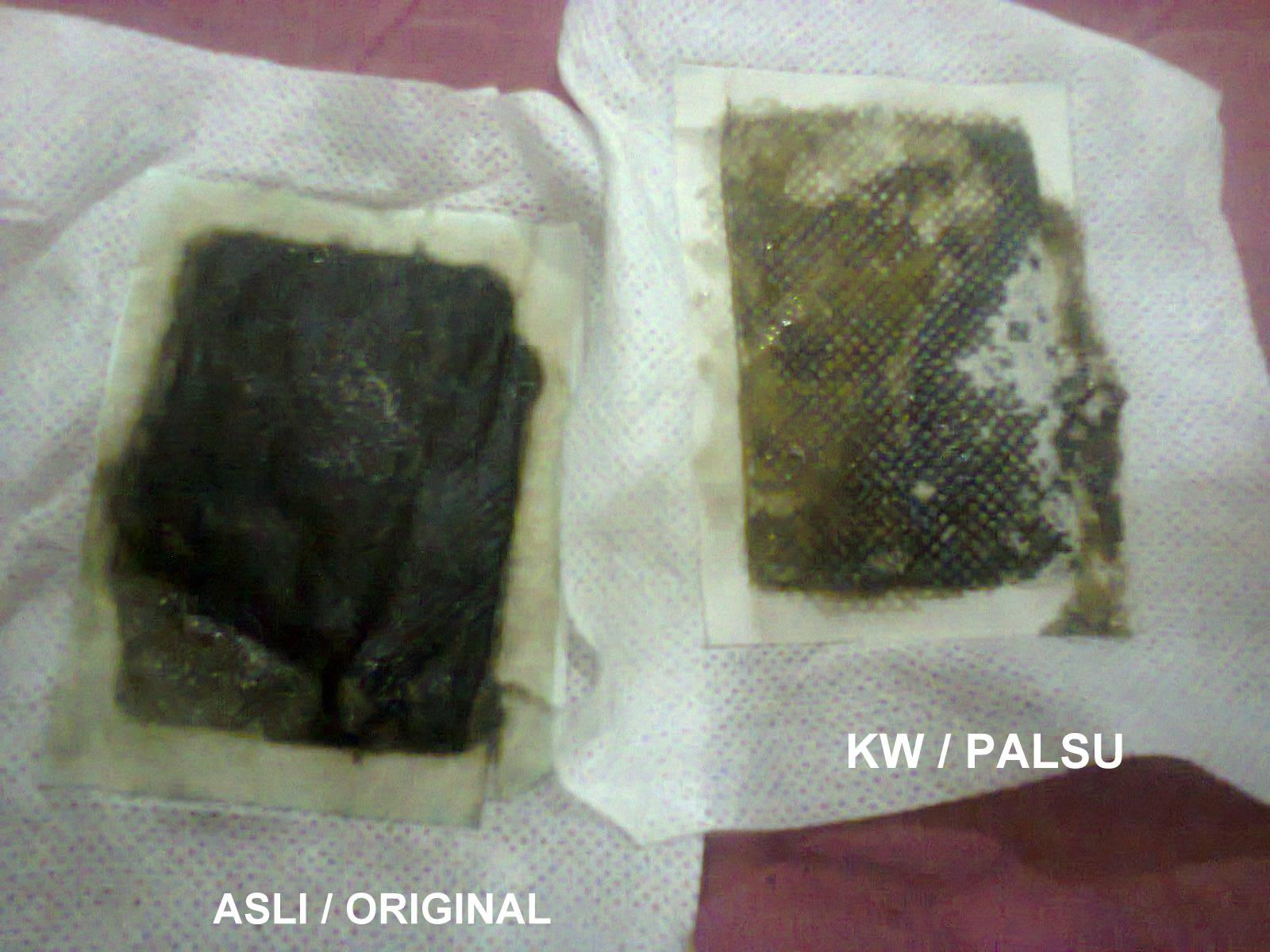 Grosir Koyo Kaki Paling Murah Di Indonesia Perbedaan Asli Bamboo Gold Original Detox Senin 19 November 2012