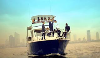 B.A.P One Shot boat scene