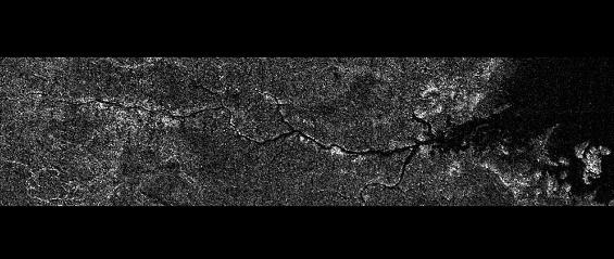 Luna de Saturno -Titán - formas de vida Rio-nilo-de-titan