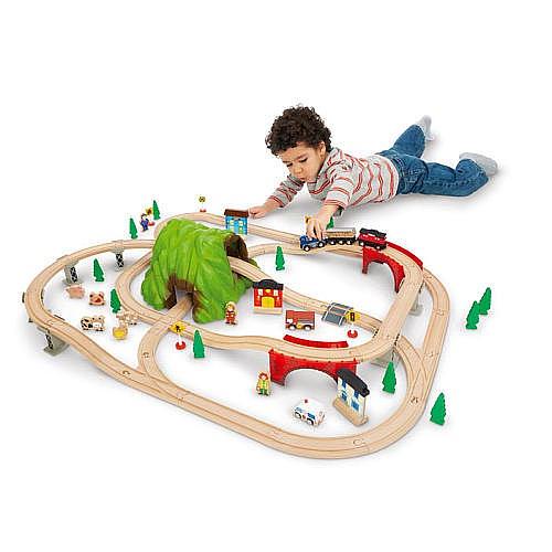 imaginarium mountain pass railroad train set instructions