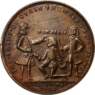 moneda batalla Cartagena de Indias
