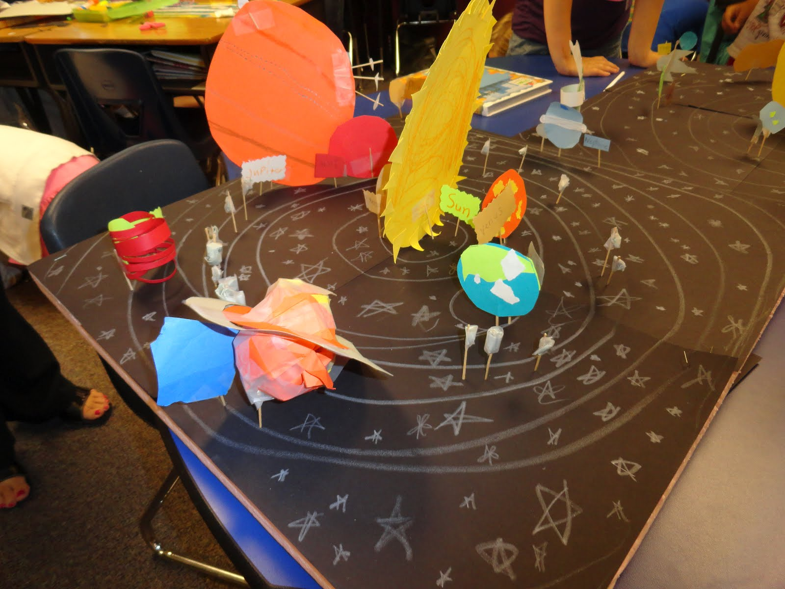 Adventures in Third Grade: Up in the Air! It's a... PLANET!