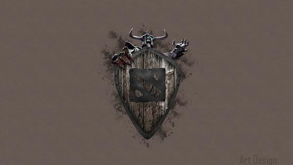 undying dirge logo dota 2 game hd