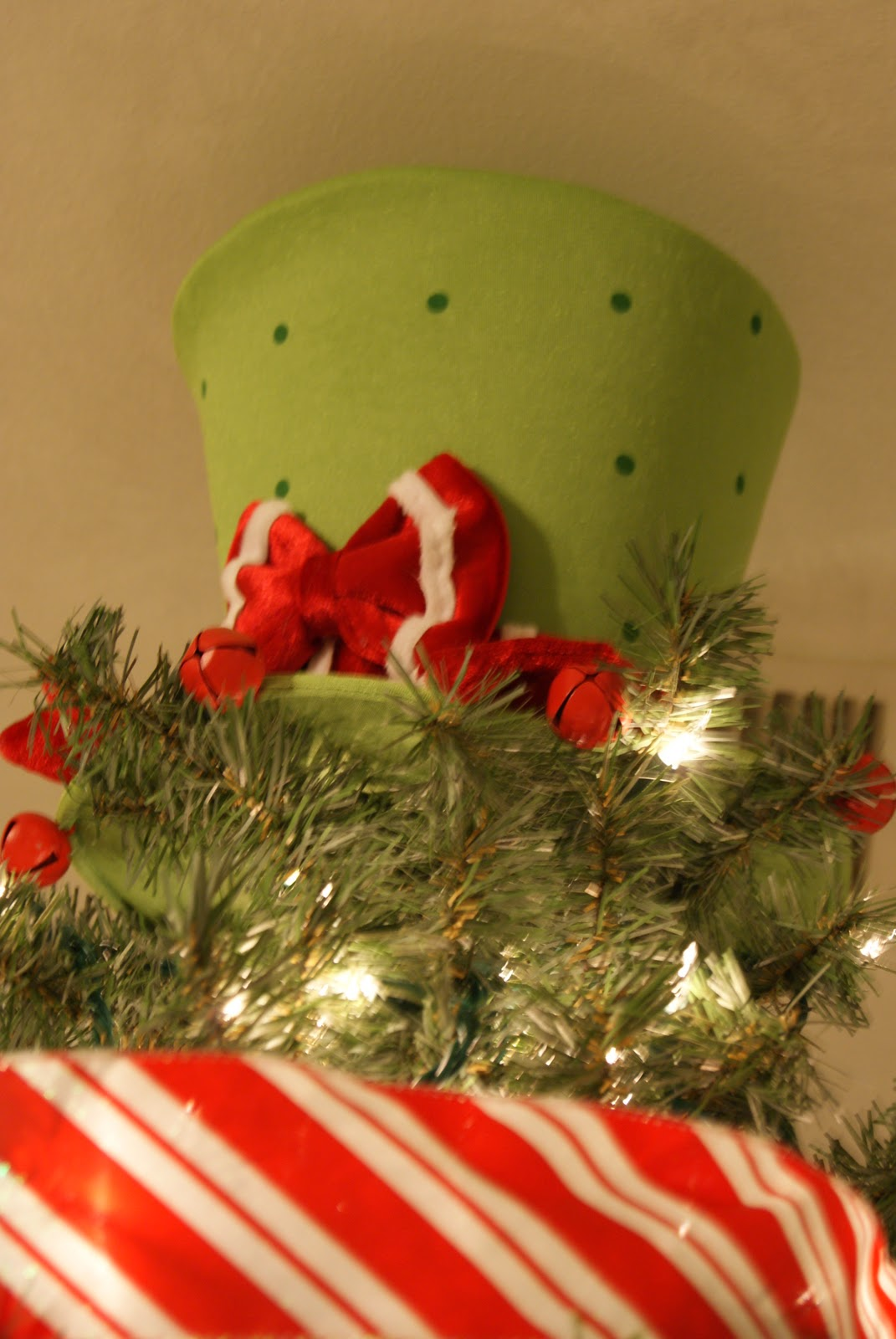 i love the tree topper top hat i got it from cracker barrel last december for 1499