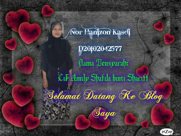 Nor Hanizon Binti Kasdi D20102042577