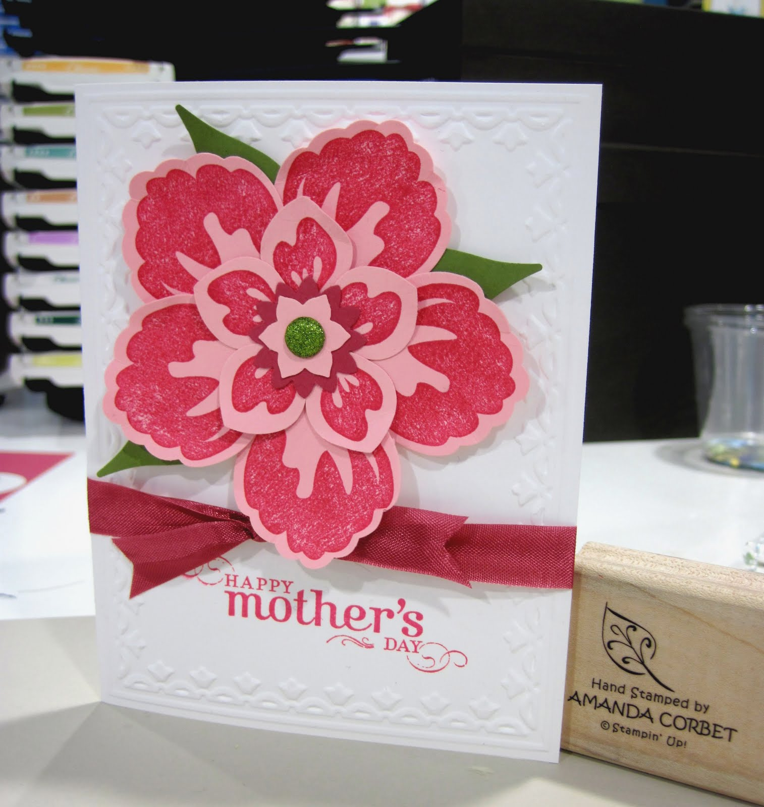 Pink Mother's Day Flwoer