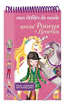 Carnet gommettes autocollants coloriage Poneys et Licornes