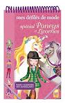 Carnet gommettes autocollants coloriage Poneys et Licornes