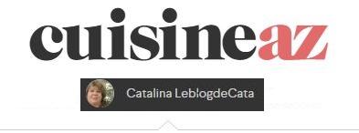 Le Blog de Cata sur CuisineAZ