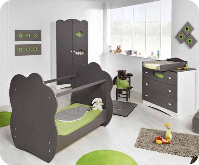 Id e d co chambre de b b fille - Coloriage decoration dune chambre de bebe ...