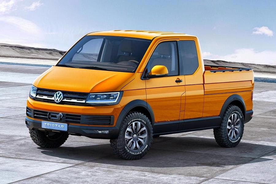 Volkswagen Tristar Concept (2014) Front Side