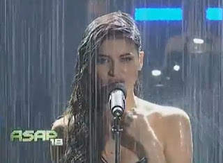 anne curtis wet look photos on ASAP 2013
