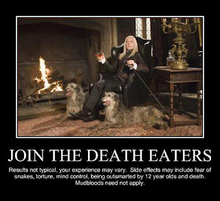 Silly Funny Harry Potter Pictures Death Eaters
