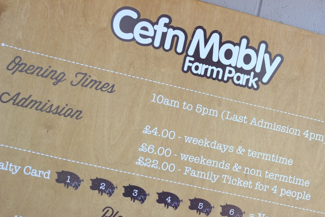 Cefn Mably entrance sign
