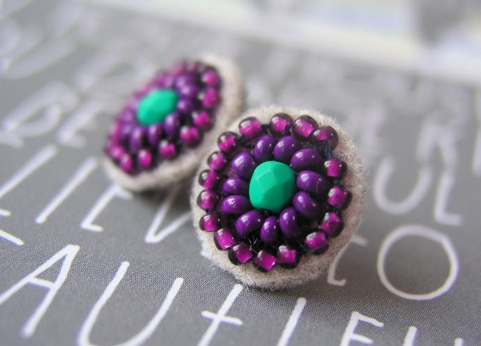 Świetliste fiolety przeczyste