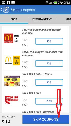 skip coupons