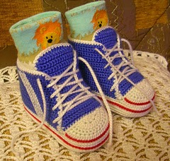 Free Crochet Baby Shoes, Booties, Sandals, Sneakers, and Slippers Patterns